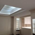 Plafond séjour - cuisine