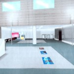 3D Hall d'accueil