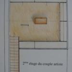 Plan 2eme étage artiste