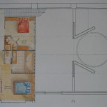 Plan étage artiste