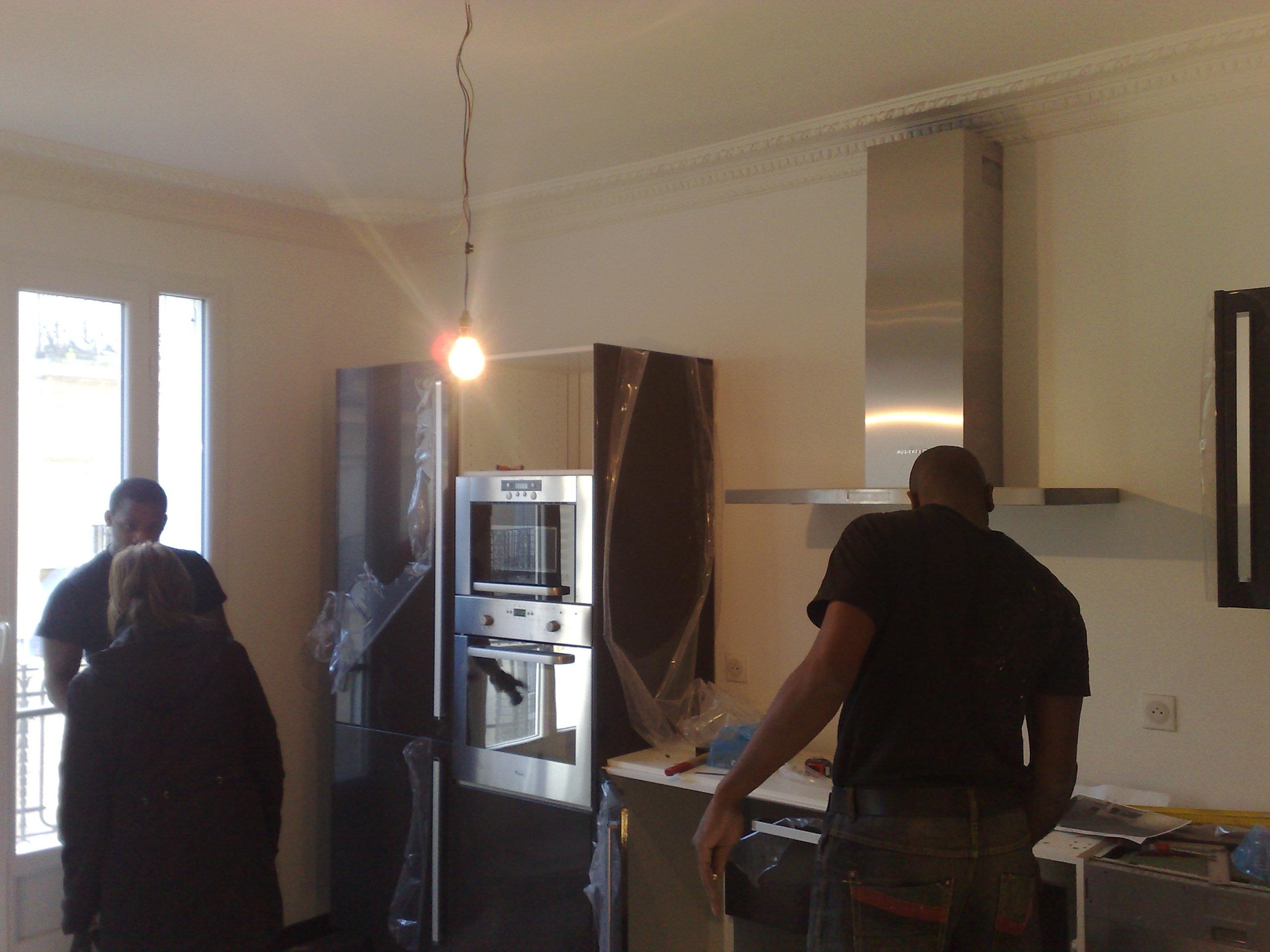 Am nagement cuisine for Emploi architecte interieur paris