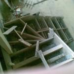 coffrage escalier