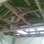 démontage du plafond