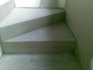 escalier travaux