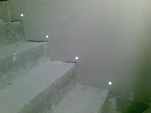éclairage escalier